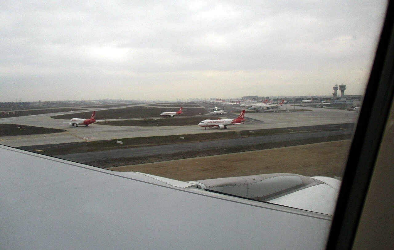 Istanbul. The Ataturk airport