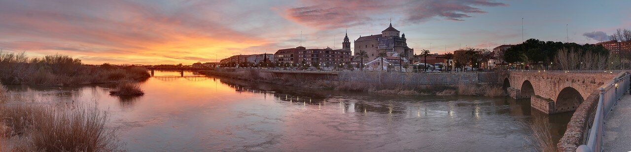 Evening in Talavera de la Reina