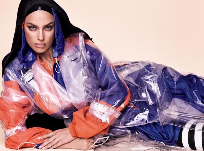 Ирина Шейк для Vogue Japan (10 фото)