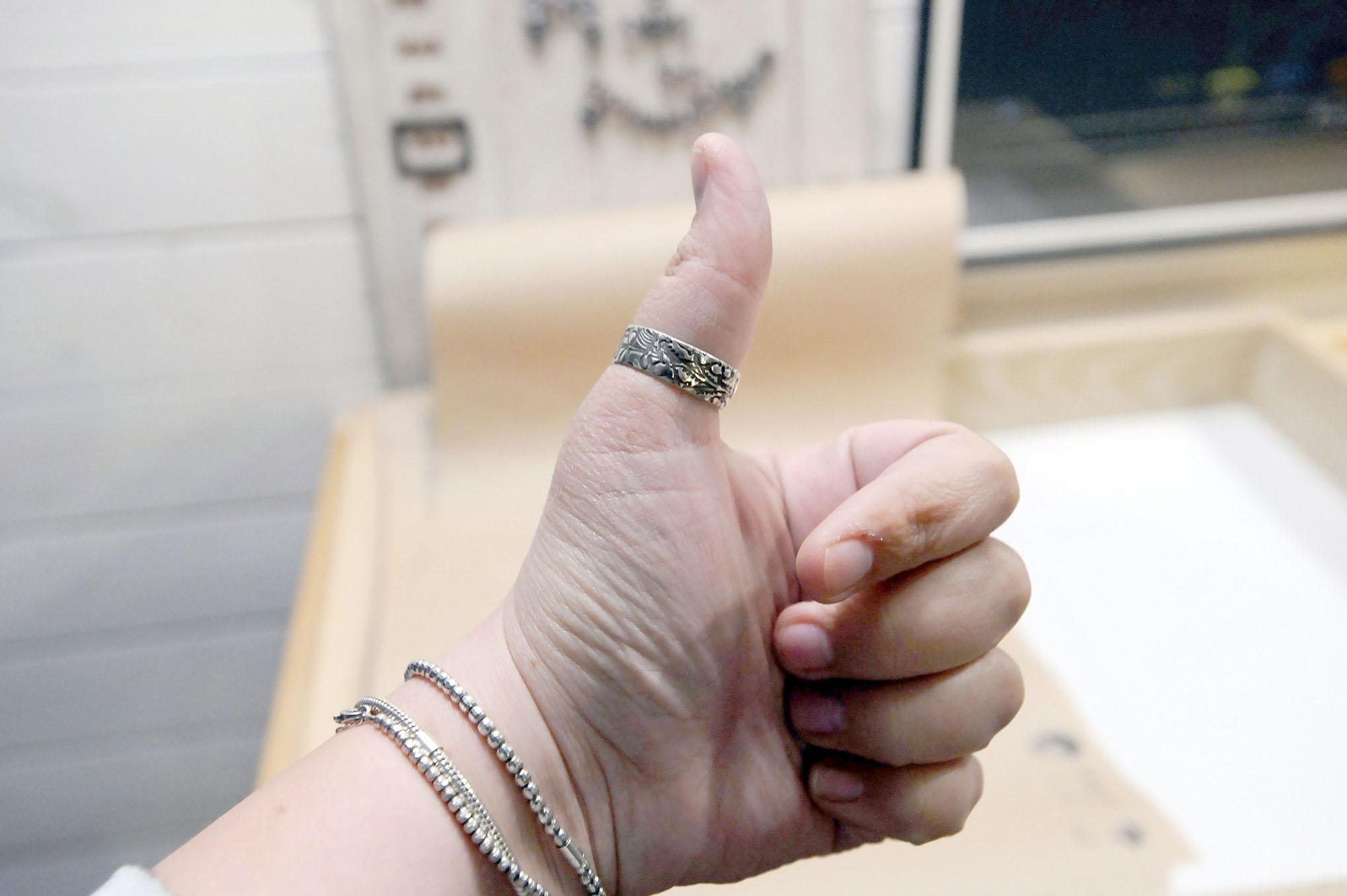 И вот оно — кольцо мечты! Сделанное по собственному дизайну и своими руками! При желании можно научи
