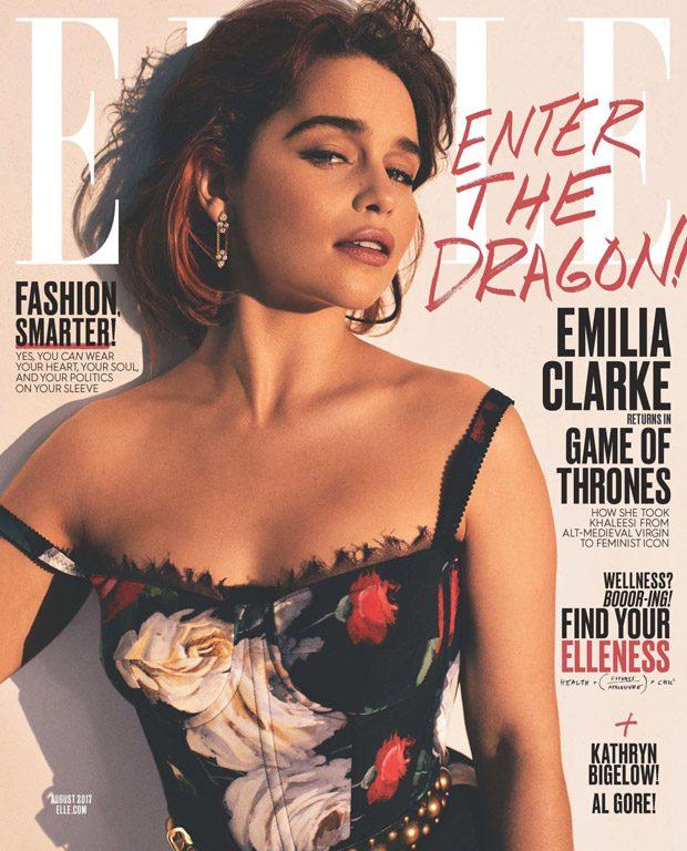 Эмилия Кларк в Elle Magazine (6 фото)