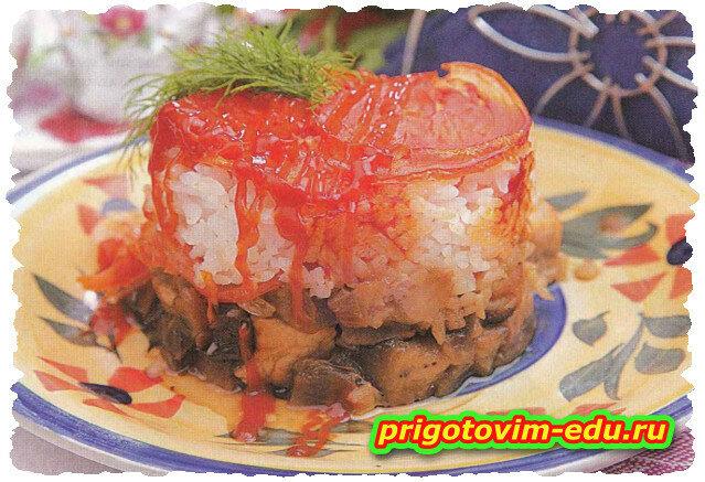 Мясо с баклажанами в горшочке