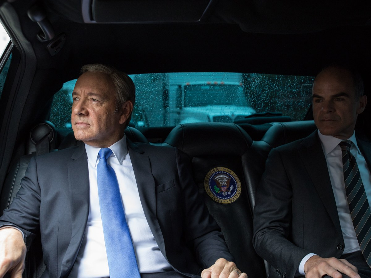 «President» Underwood Photographed by Pete Souza