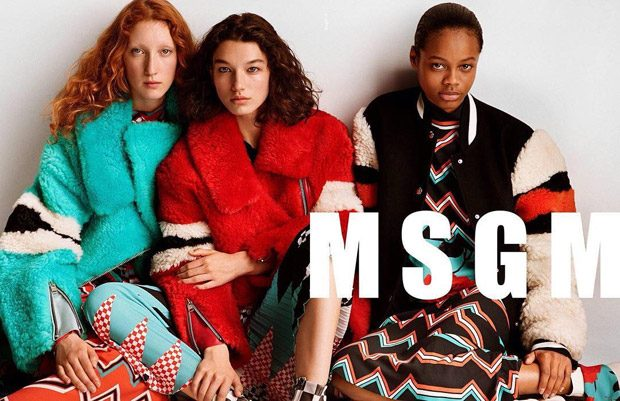 MSGM Fall Winter 2017.18 by Alasdair McLellan
