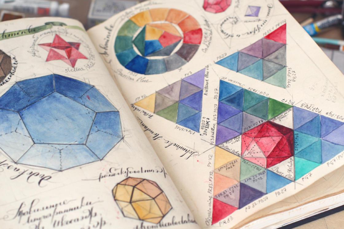 A wandering into the fascinating sketchbook of artist Elena Limkina