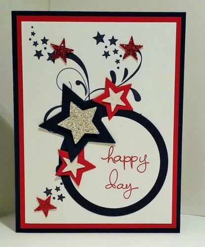 Поздравительные открытки со звёздами