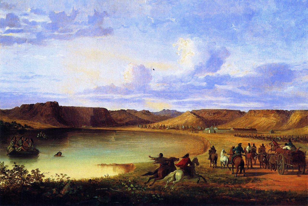 1 John Mix Stanley     Fort Benton Indians, Fort Benton, Montana.jpg