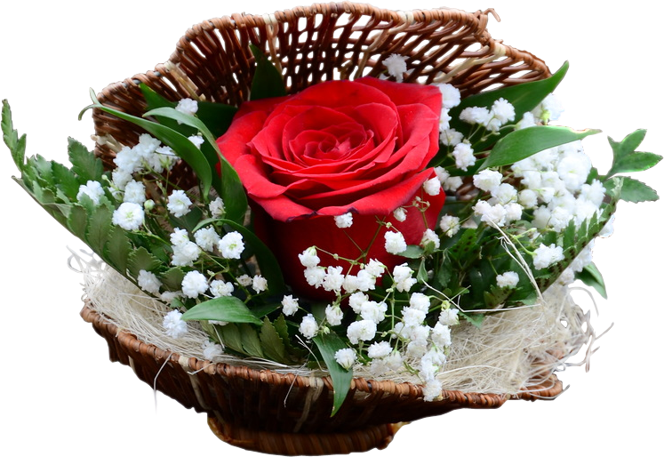 Открытка с цветами и надписью для тебя