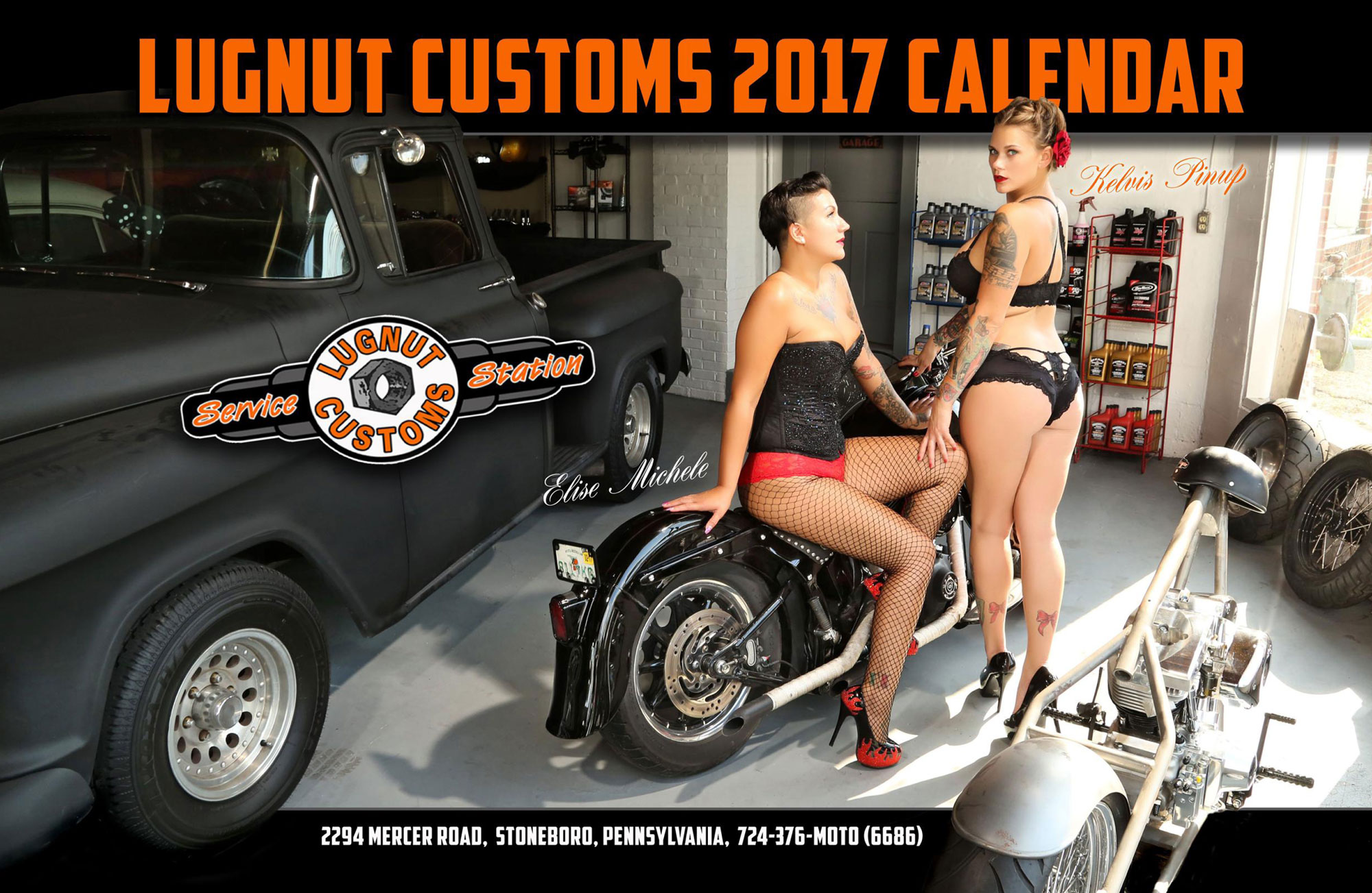 Lugnut Customs 0017 calendar