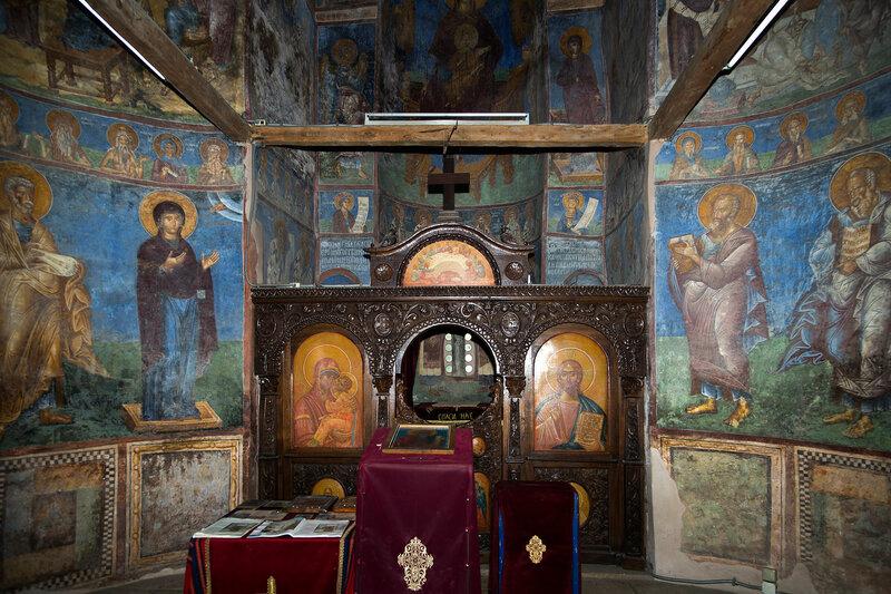 В храме Святого Андрея на Треске