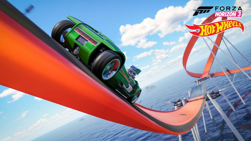 Hot Wheels — второе большое дополнение для Forza Horizon 3