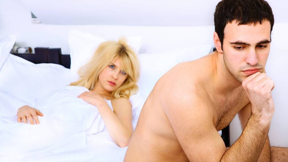 Причины слабой эрекции у молодого мужчины