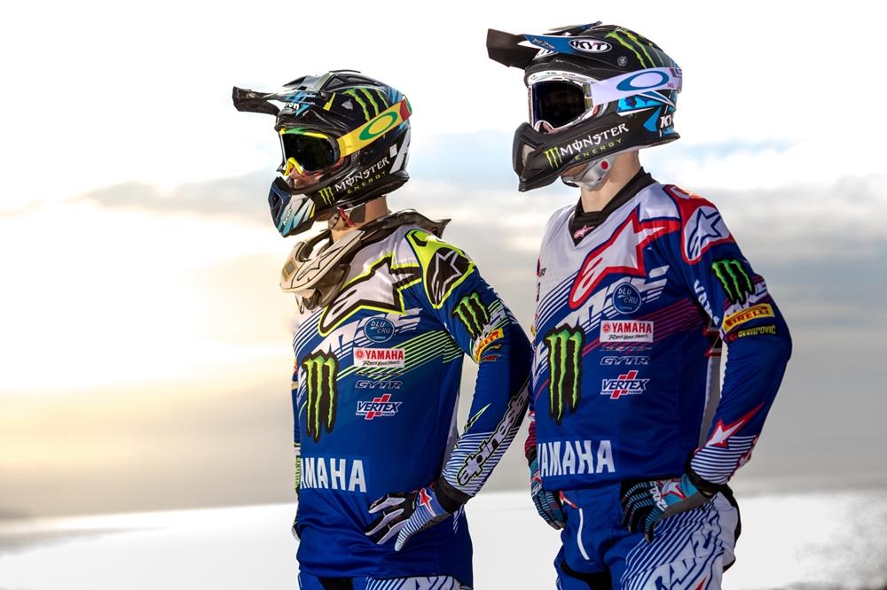 Команда Yamaha MXGP 2017: кроссбайк Yamaha YZ450FM 2017, Роман Февр и Джереми фон Хоребик