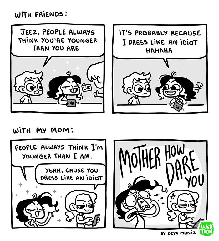 15 situacoes comicas que resumem o que significa ser mulher