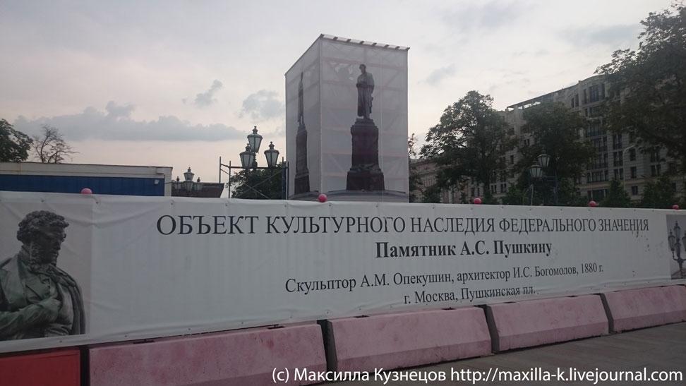 Пушкин и реновация