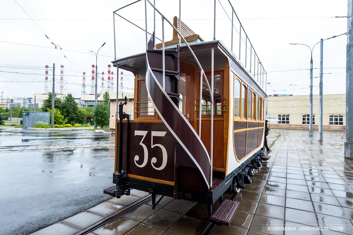 Краснопресненское трамвайное депо.