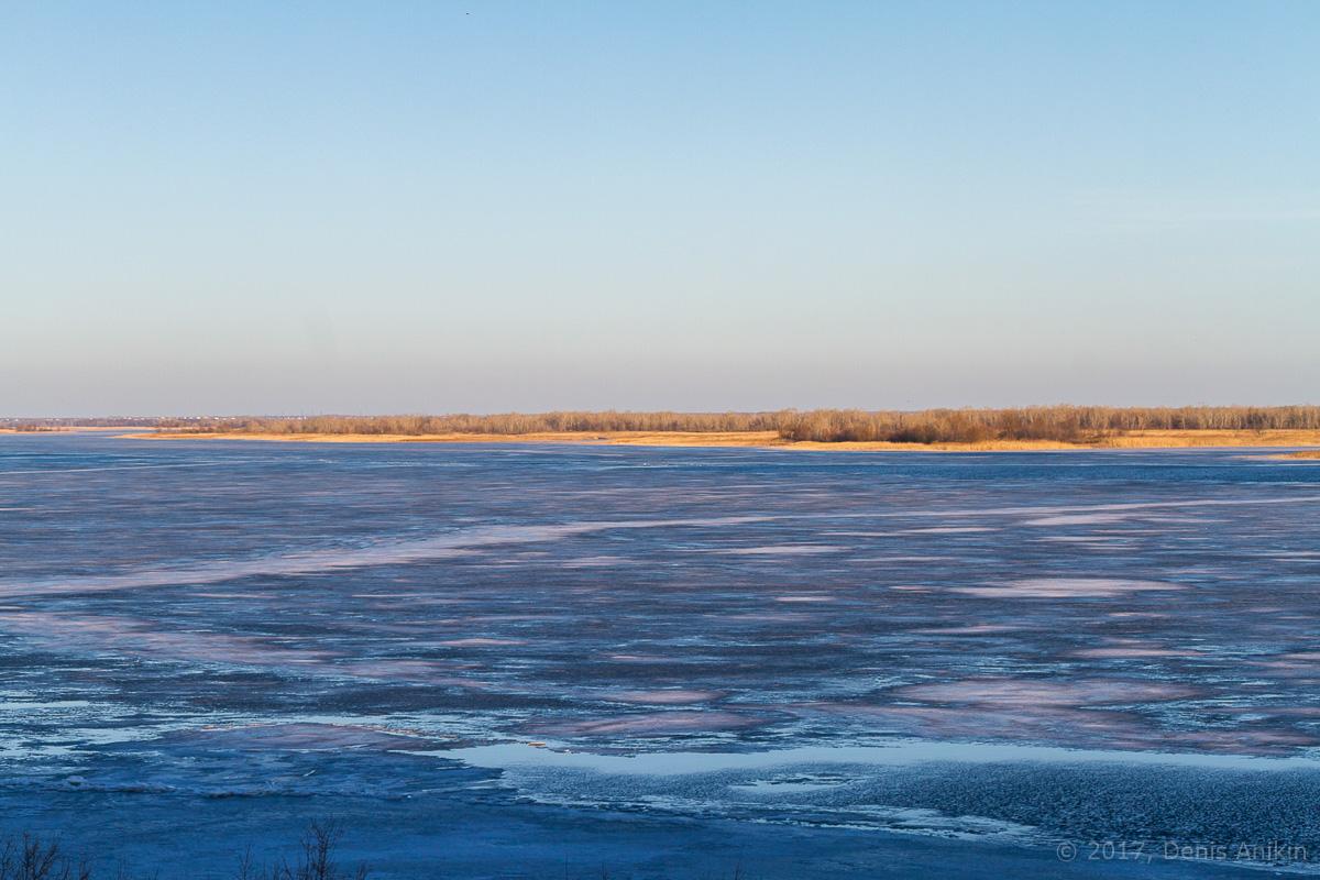 Волга весна лёд фото 2