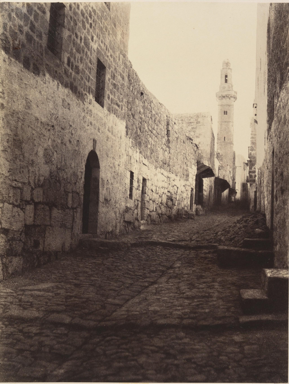 Улица Иерусалима и въезд в Большой монастырь