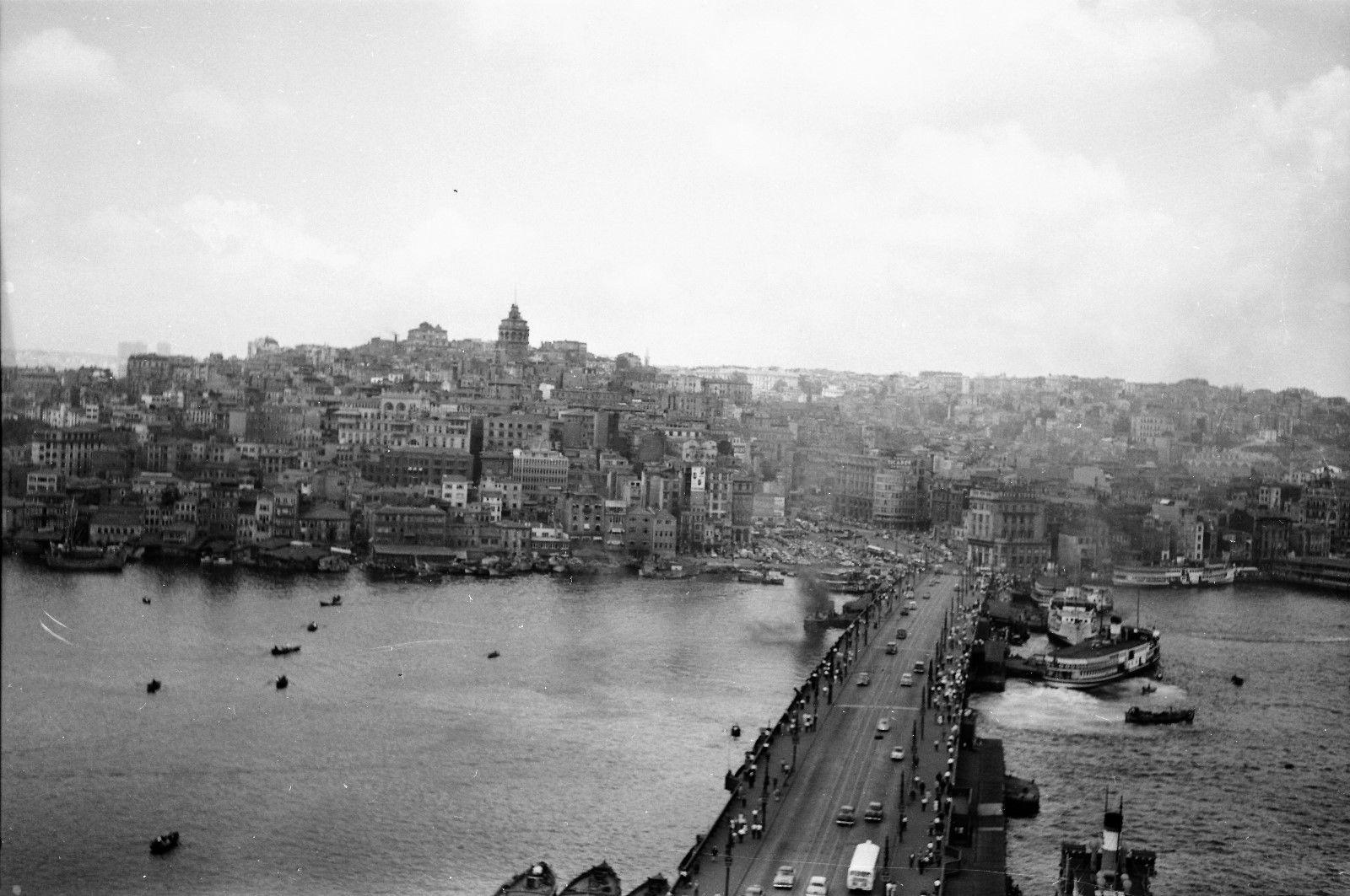 Панорама Галатского моста