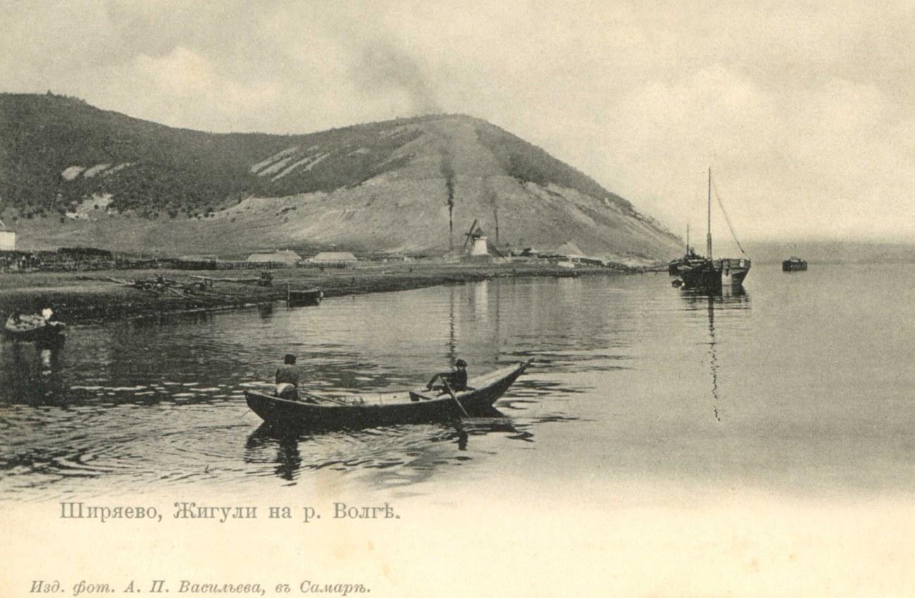 Окрестности Самары. Ширяево, Жигули на реке Волге