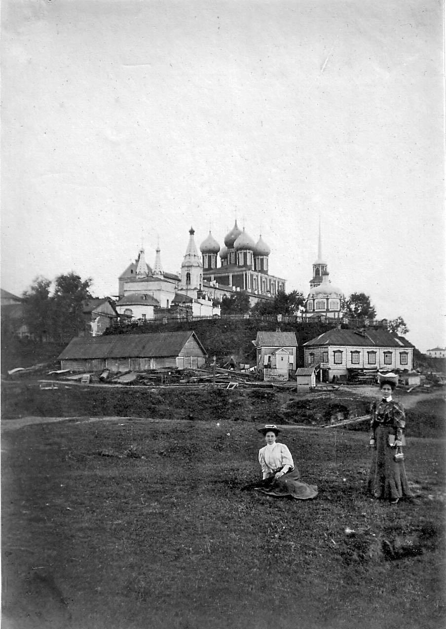Кремль и лесопильный завод купца Григория Солодова