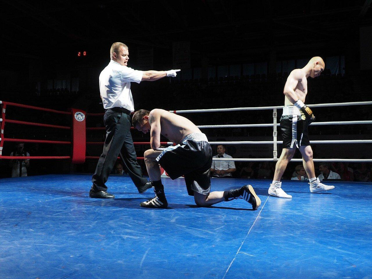 87 Вечер профессионального бокса в Магнитогорске 06.07.2017