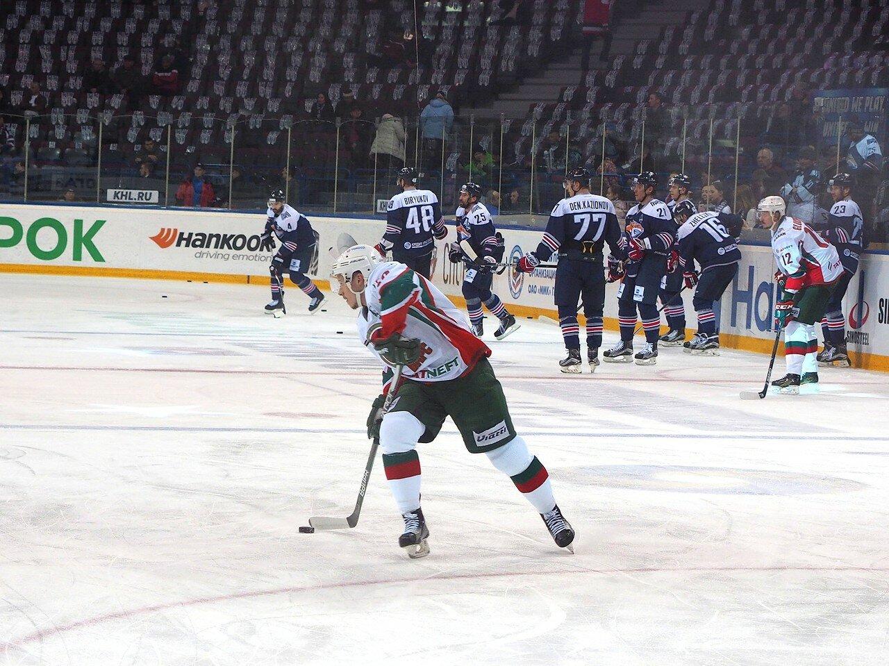 16 Первая игра финала плей-офф восточной конференции 2017 Металлург - АкБарс 24.03.2017