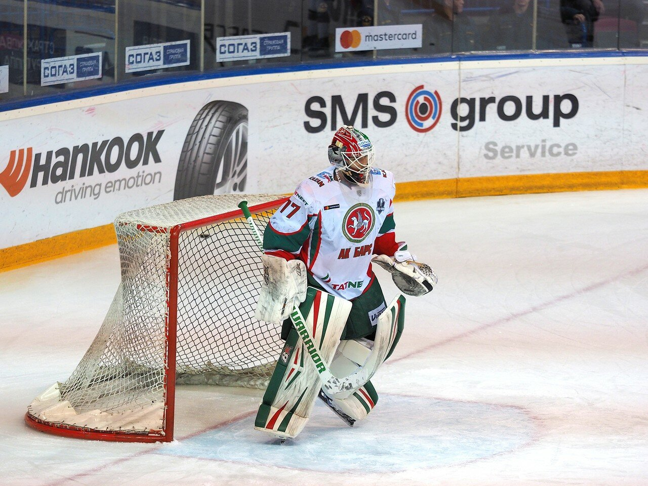 18 Первая игра финала плей-офф восточной конференции 2017 Металлург - АкБарс 24.03.2017