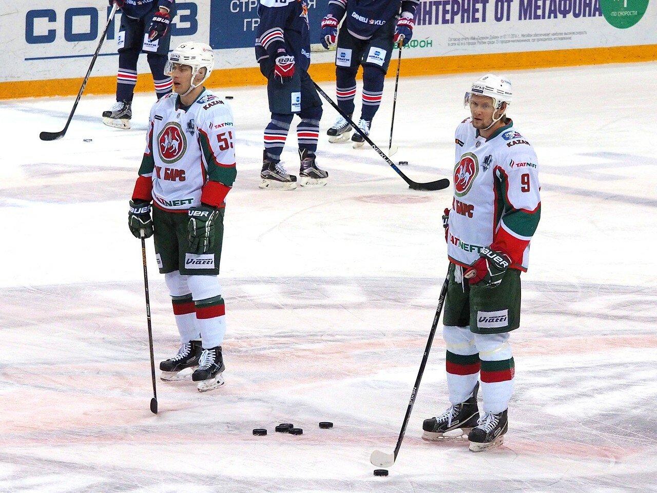 20 Первая игра финала плей-офф восточной конференции 2017 Металлург - АкБарс 24.03.2017