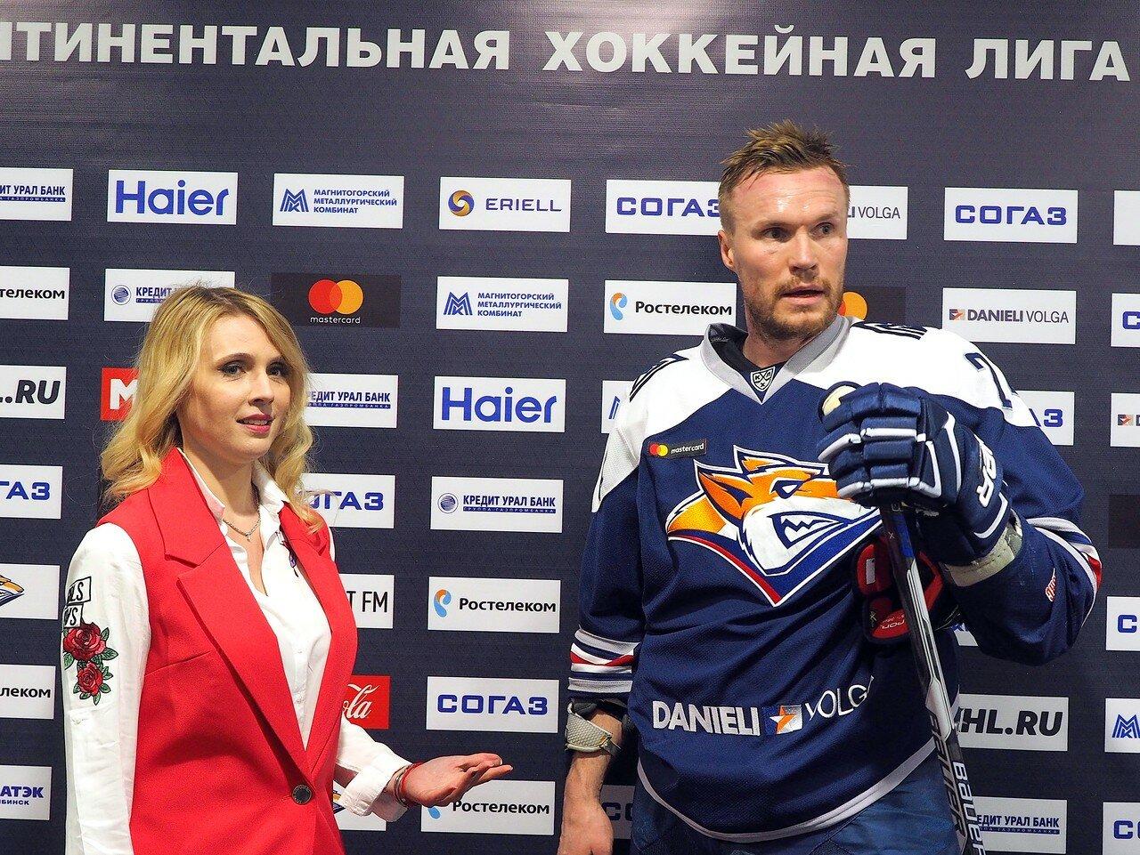 58 Первая игра финала плей-офф восточной конференции 2017 Металлург - АкБарс 24.03.2017