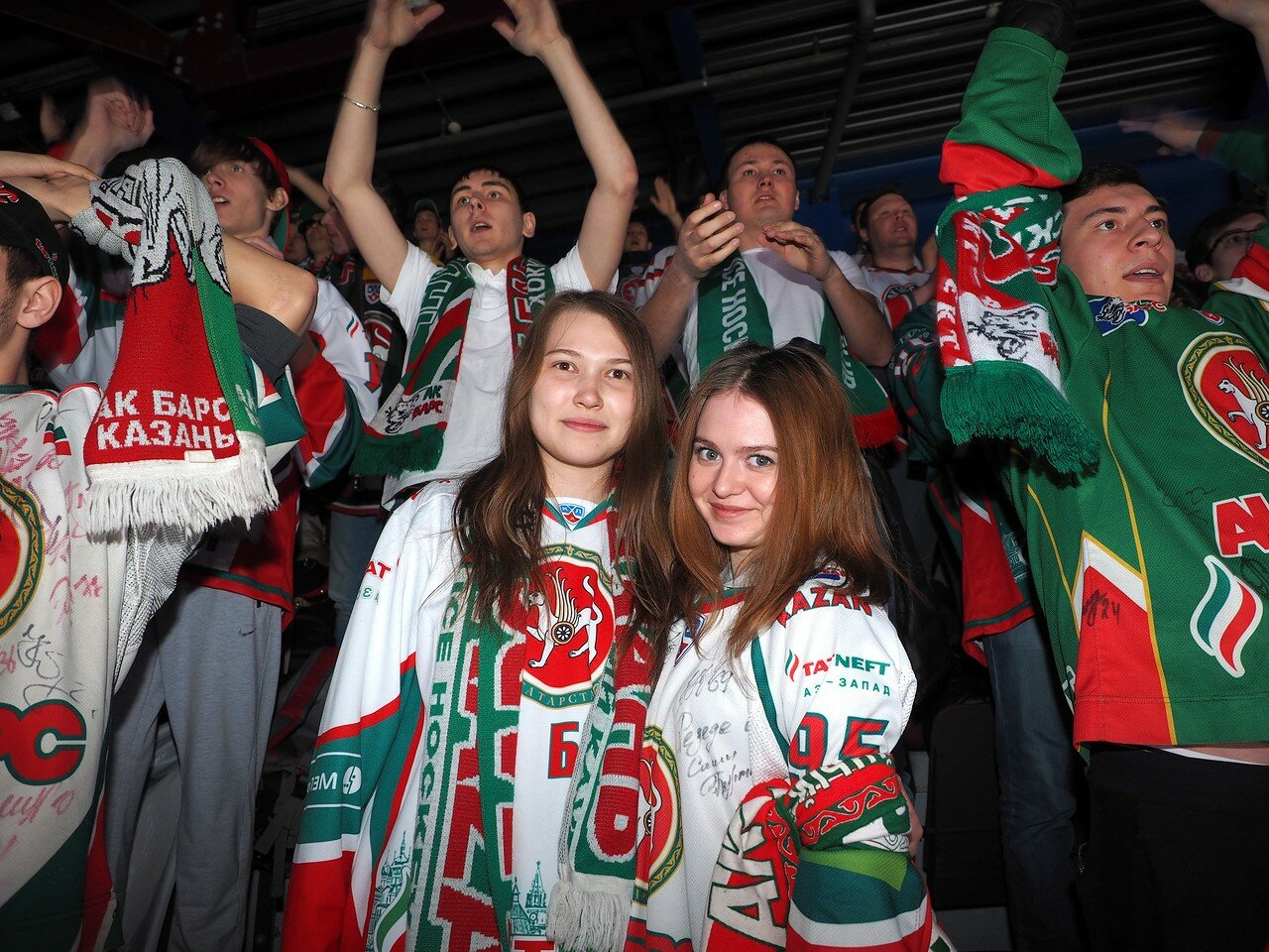 66 Первая игра финала плей-офф восточной конференции 2017 Металлург - АкБарс 24.03.2017