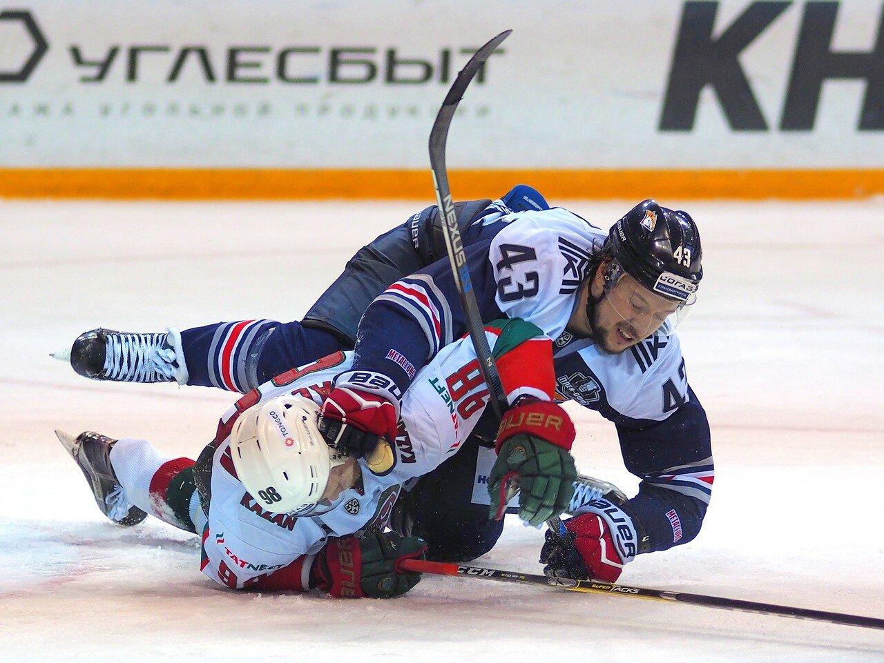 107 Первая игра финала плей-офф восточной конференции 2017 Металлург - АкБарс 24.03.2017