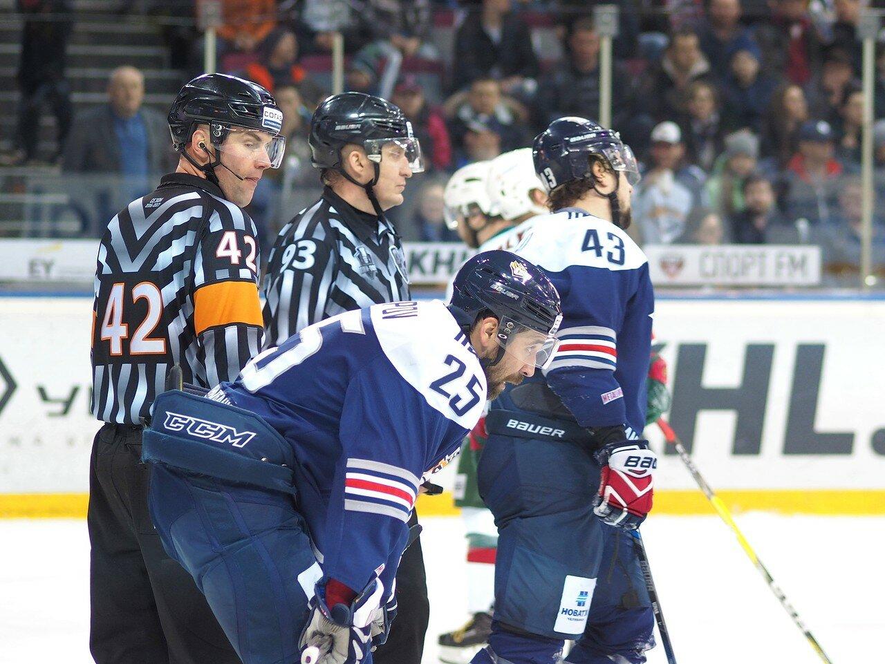 108 Первая игра финала плей-офф восточной конференции 2017 Металлург - АкБарс 24.03.2017