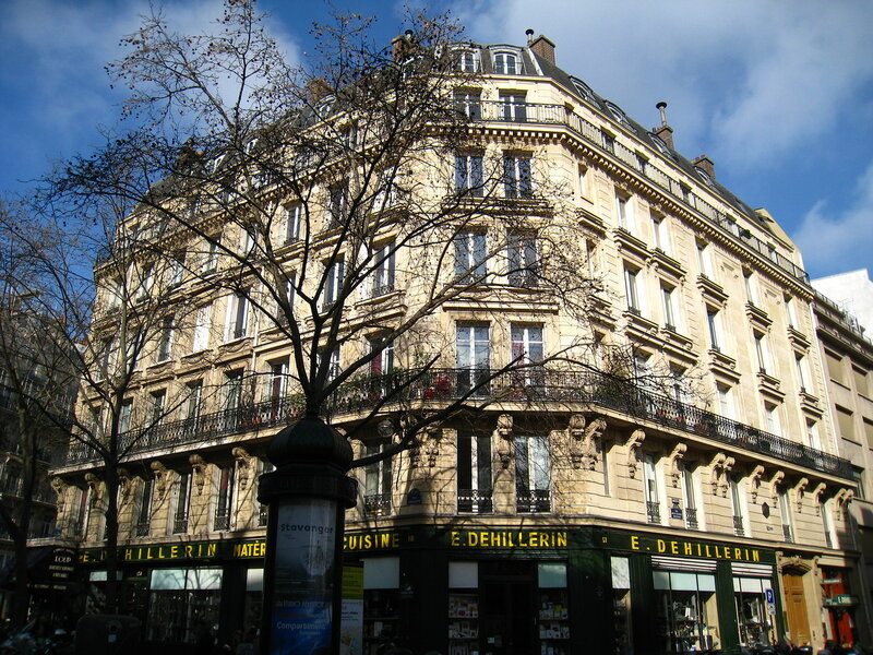 улица бюси рынок париж очень длительный