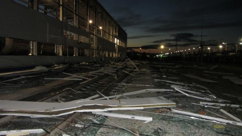 ВТобольске трое рабочих пострадали при взрыве на«СГ-транс»