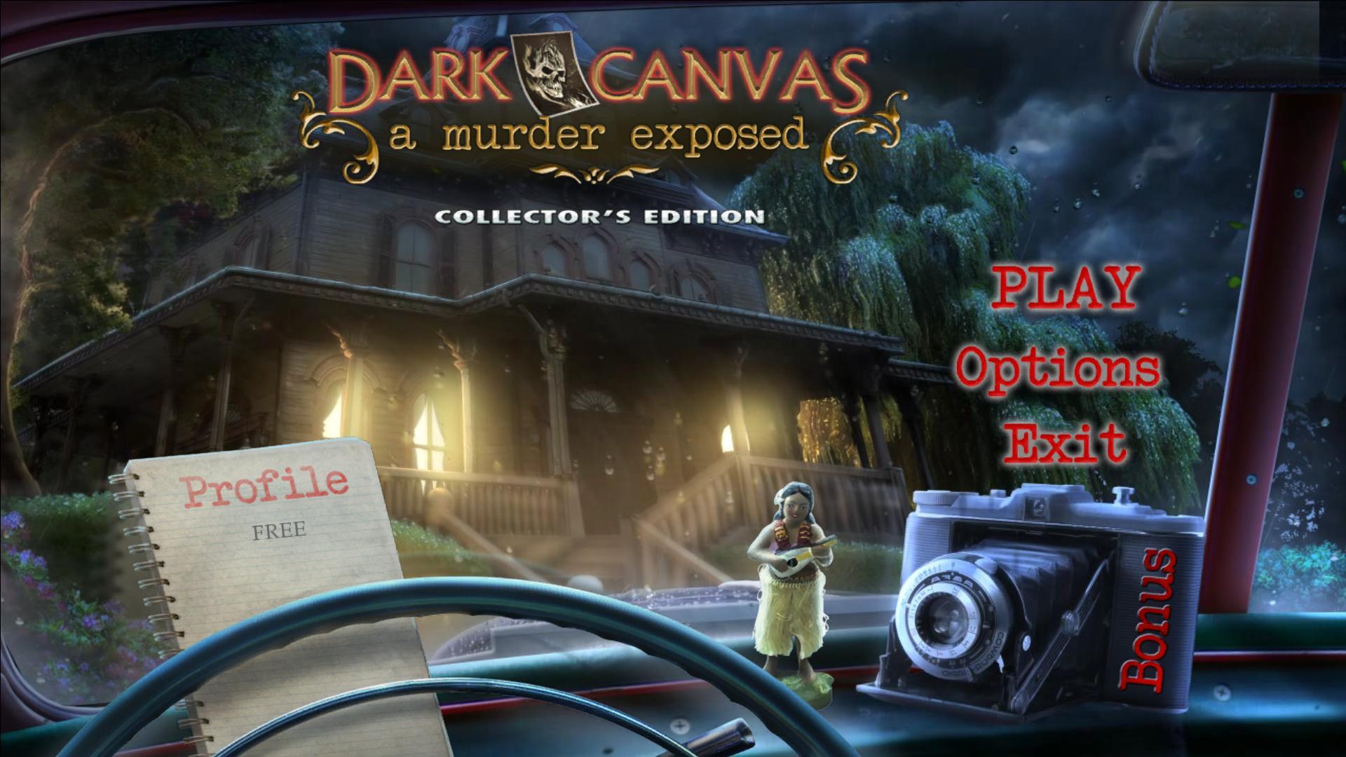 Холст Тьмы 3: Открытое убийство. Коллекционное издание   Dark Canvas 3: A Murder Exposed CE (Rus)