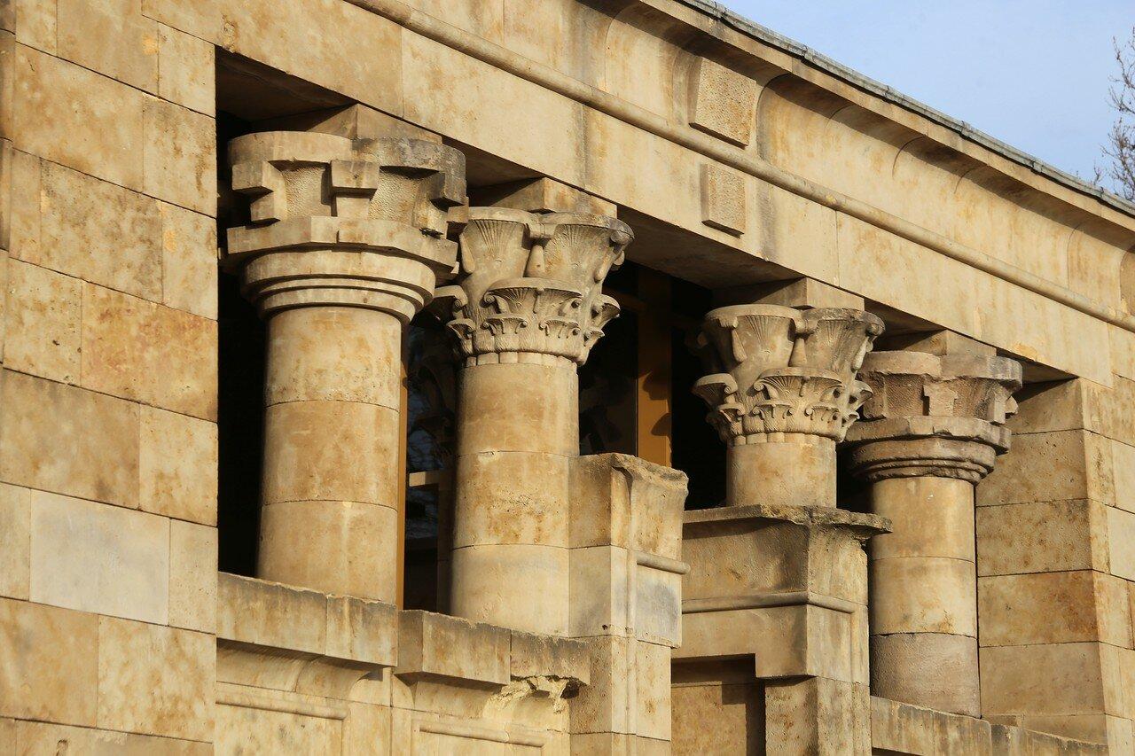 Мадрид. Египтский храм Дебод (Templo de Debod)
