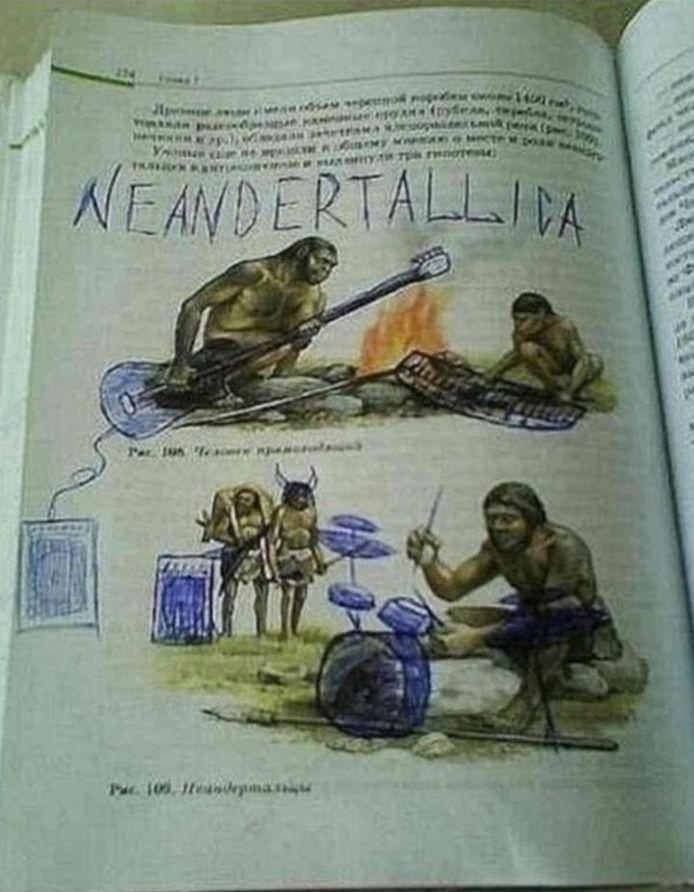 Вы уже слышали новый альбом группы Neandertallica?