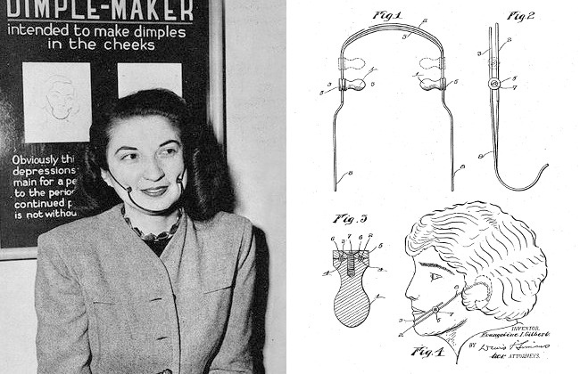 © imgur  © google.patents  Женственный образ считался незаконченным без очаровательных я