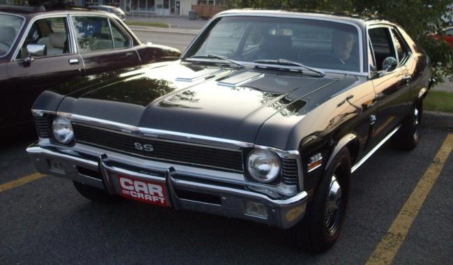 © wikipedia  Chevrolet Nova— еще одно неудачное название. Автомобиль небыл востребован нив