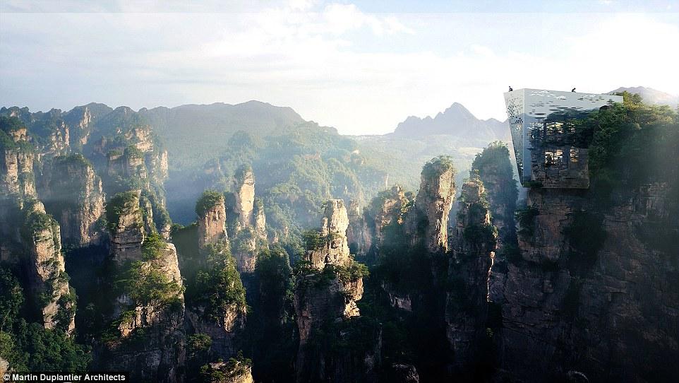 В Китае построят ещё один высокогорный мост со стеклянным полом