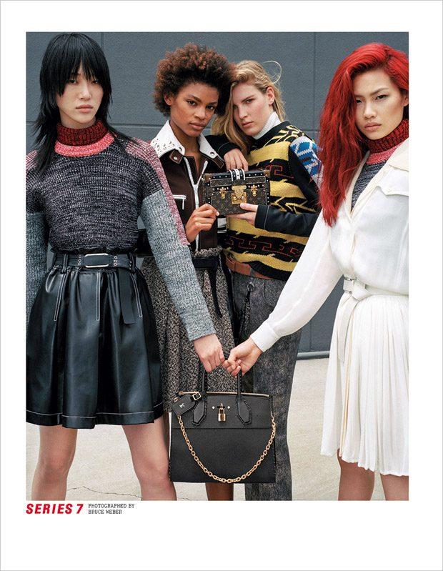 Модели, актёры и актрисы в рекламной кампании Louis Vuitton