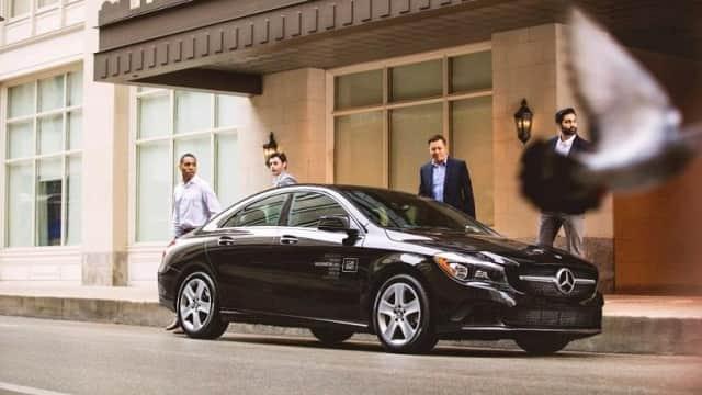 Автомобильный парк сервиса Car2Go приобрел новые автомобили Mercedes