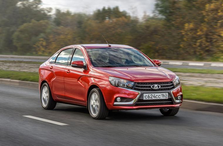 Продажи авто Лада в EC растут четвертый месяц подряд