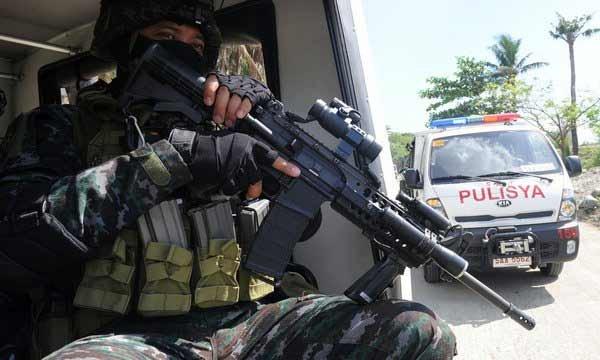 Американские военные оказывают техническую помощь армии Филиппин