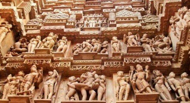 Индийские храмы плотских утех