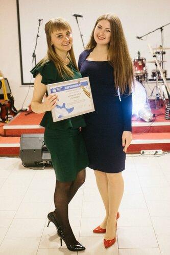 Ольга Коплерова на Параде Победы