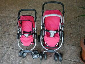 отличие кукольных колясок Melobo 9662 и 9662м