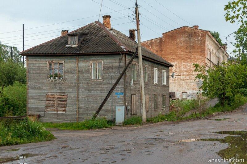 Старые дома, Вытегра