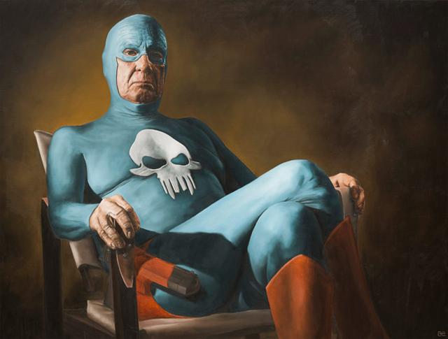 Superhero In Pension By Andreas Englund